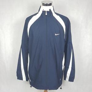 NWOT Nike Air Windbreaker Jacket XXL Blue VTG